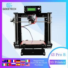 Stampante 3D Geeetech Reprap i3 Pro B Kit fai da te GT2560 scheda principale LCD2004 5 materiali supporto impresora stampa mancanza di corrente 3d