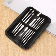 8 Pcs Stainless Steel Blackhead Remover Tool Kit Professiona