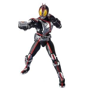 Image 4 - Maskeli Rider 555 20th yıldönümü Kamen Rider Faiz eylem şekilli kalıp oyuncaklar PVC 15CM koleksiyon hediyeler masaüstü dekorasyon