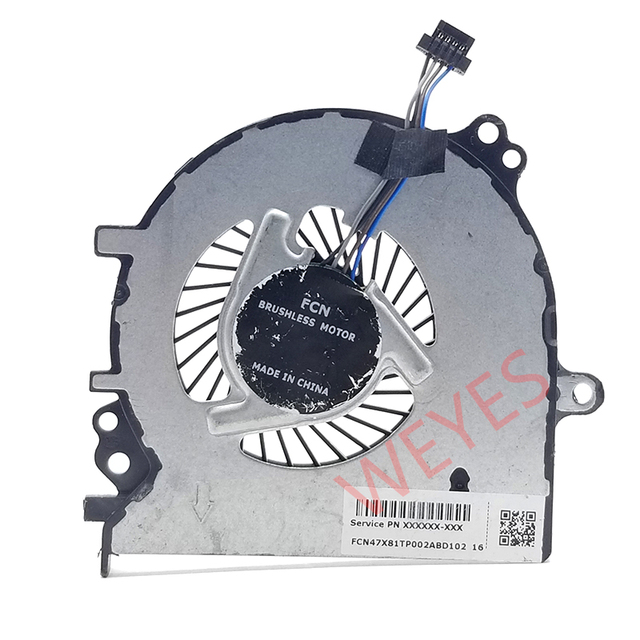 מקורי מחשב נייד/מחברת מעבד קירור מאוורר עבור HP Probook 430 G4 430G4 NS65B02 15M21 905730 001