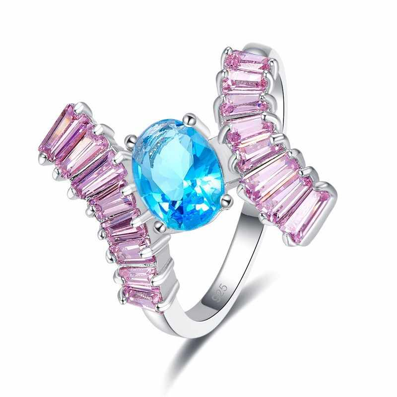 2019 Новая мода оригинальный дизайн винтажное ретро большое Хрустальное свадебное кольцо для женщин женские ювелирные аксессуары Бесплатная доставка