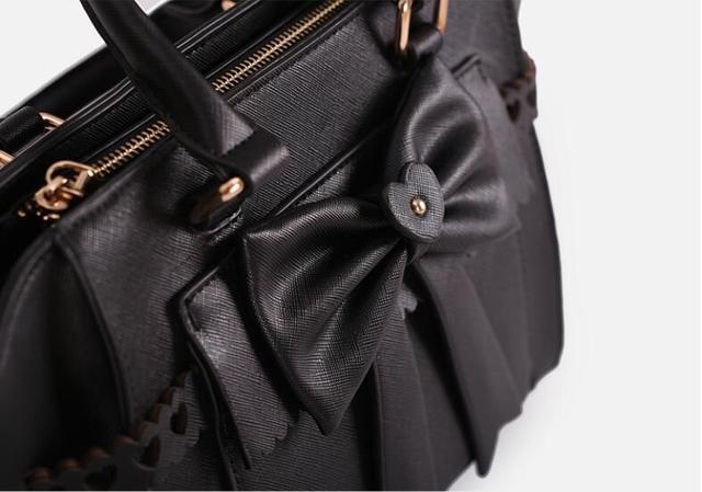 Купить милая сумка в стиле лолиты с милым бантом женская kawaii повседневная картинки цена