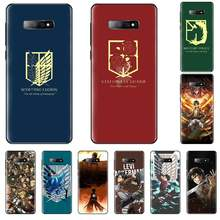 Anime Japanese attack on Titan Black TPU Soft Rubber Phone Cover For Samsung Galaxy S5 S6 S7 S8 S9 S10 S10e S20 edge plus lite(China)