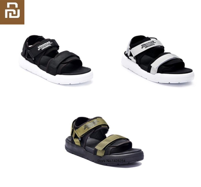 Youpin ULEEMARK Men Fashion Sports Sandals Cool Comfortable Casual Slippers Summer Man Outdoor Beach Sandals