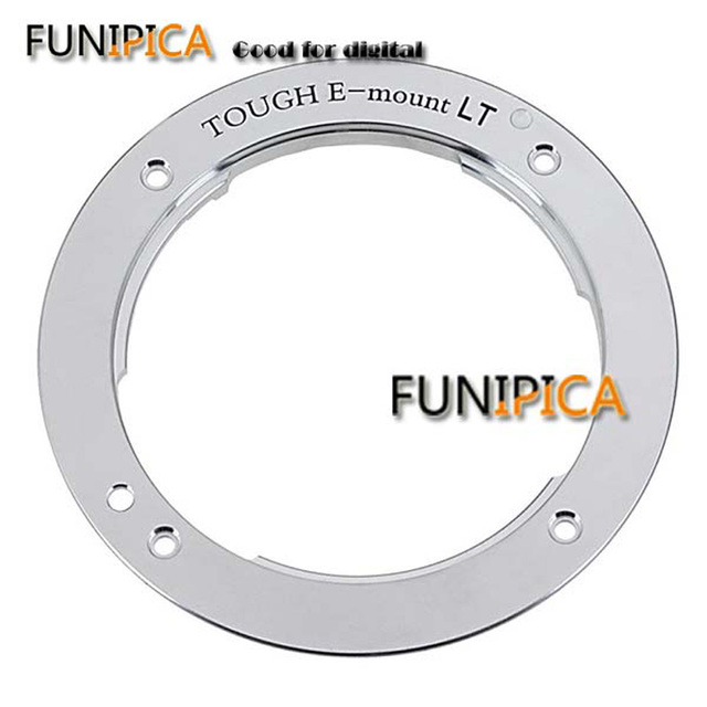 New Camera mount ring for Sony A7 A7R All metal TOUGH E mount Sony body E bayonet reinforcement kit camera repair parts
