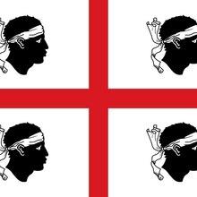 90x150cm Italy Sardinia Flag