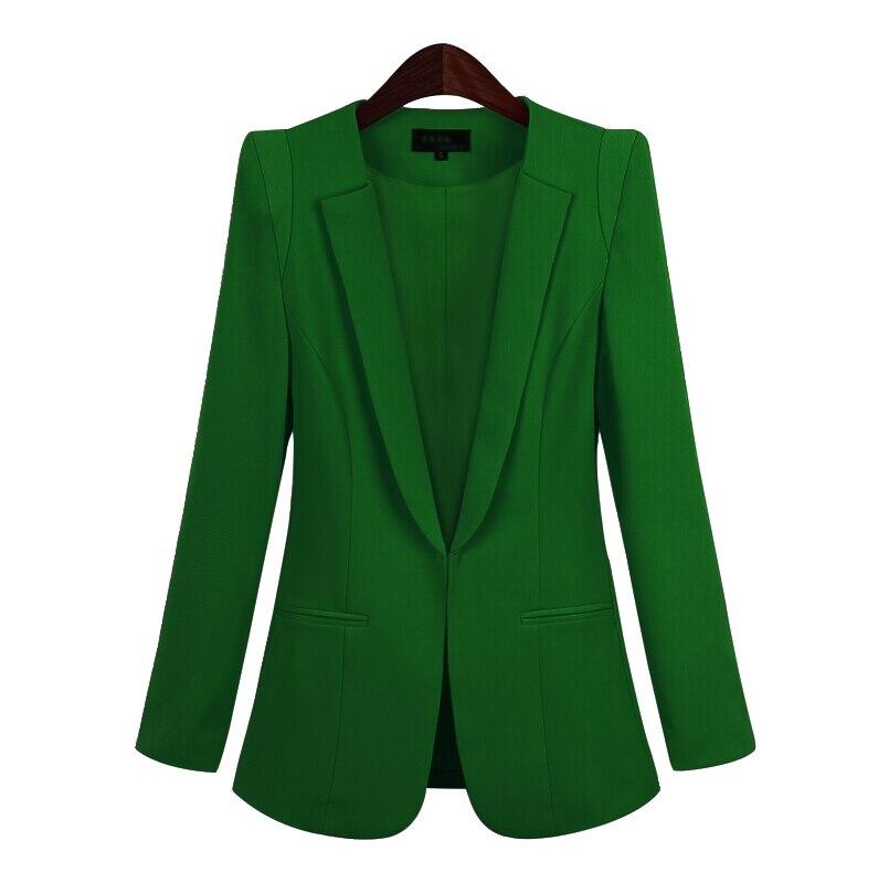 2020 Korean Small Suit Jacket Women Autumn Spring New Long Sleeve Hidden Breasted Work Blazer Suit  Plus Size