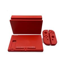 De plástico Rojo Funda carcasa cubierta para la consola Nintendo Switch TV muelle Satation para interruptor alegría y consola de tapa de plástico de la cubierta