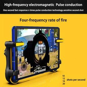 Image 2 - Controlador de disparo PUBG para tableta Ipad, capacitancia L1R1, botón de disparo