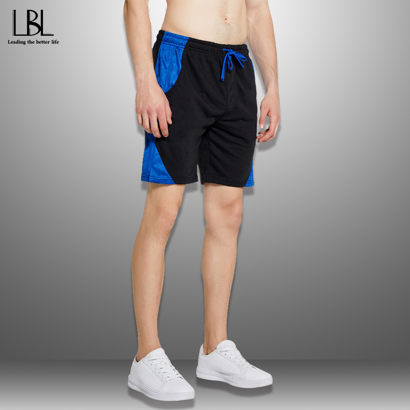 Patchwork Shorts Men Summer 2020 Men's Beach Shorts Quick Drying Drawstring Short Pants Man Sportswear Casual Boardshort Man 4XL