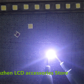 250piece/lot FOR repair LG TV LED Backlight Optical lens DRT 3.0 32inch 42inch 47inch 55inch Lamp cover+ alternat 3535 6V 100PCS image
