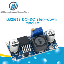 Lm2596s DC-DC step-down módulo de alimentação 3a ajustável step-down regulador de tensão 24v 12v 5v 3v módulo lm2596