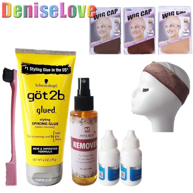 Got2b Glued Spary Wig Glue Bond Hold Glue 38ml Lace Front Wig Glue Adhesives For Closure Wig Remover Bold Hold Lace Glue Got2b
