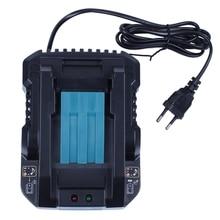 Dc18Rc 14.4V 18V Li Ion ładowarka 4A prąd ładowania dla Makita Bl1830 Bl1430 Dc18Rc Dc18Ra elektronarzędzia bateria z wtyczką ue