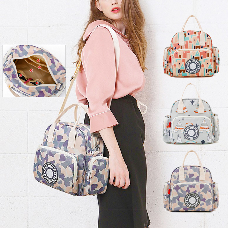 Diaper Bag Large Capital Baby Bags For Mom Shoulder Bag Adjustable Strap Backpack Portable Maternity Bag Baby Accessories