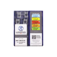 APKT1604PDTR LT30 100% оригинальная вставка из карбида ламината с лучшим качеством 10 шт./лот Бесплатная доставка