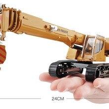 Инженерная модель из сплава, 1:50 гусеничная модель крана, кран игрушка, Высококачественная коллекция подарок