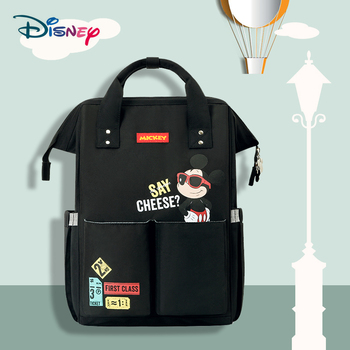 Disney Baby Diaper Bags for Mummy Maternity Nappy Bag Backpack Baby Bags Stroller Bag Usb Waterproof Stroller Diaper Backpack