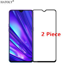 2Pcs For OPPO Realme 5 Pro Glass Tempered Glass for Realme 5 Pro Glass Film Glued Phone Screen Protector for OPPO Realme 5 Pro pro 5