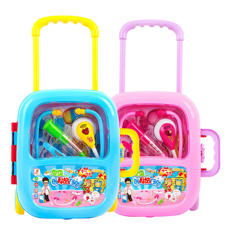 Children Doctor Toy Set Baby Medicine Box 3-6 Years Old Little Girl Play Injection Simulation Tools Pretend Play Toys For Girls