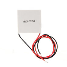 TEC1-12705 40x40mm צלעות הקירור Thermoelectric Cooler אלקטריים Elemente מודול(China)