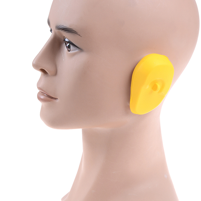 1 Pair Silicone Ear Cover Practical Travel Hair Color Showers Water Shampoo Ear Protector Cover For Ear Care 1