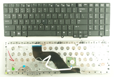 SSEA New laptop US <font><b>Keyboard</b></font> with pointing sticks For <font><b>HP</b></font> EliteBook 8540 <font><b>8540P</b></font> 8540W image