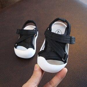Image 2 - Verão infantil da criança sapatos do bebê meninas meninos da criança sapatos antiderrapante respirável de alta qualidade crianças anti colisão sapatos