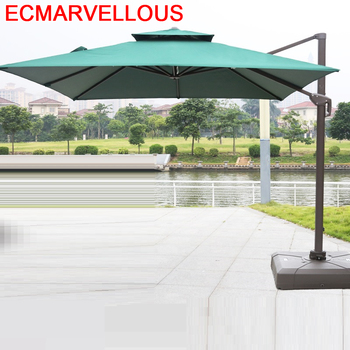 Mobilya Giardino Meuble ombrella Da Spiaggia Meble Ogrodowe Mueble De Jardin Ogrodowe Meble Ogrodowe parasol ogrodowy zestaw tanie i dobre opinie ECMARVELLOUS UMBRELLA Other