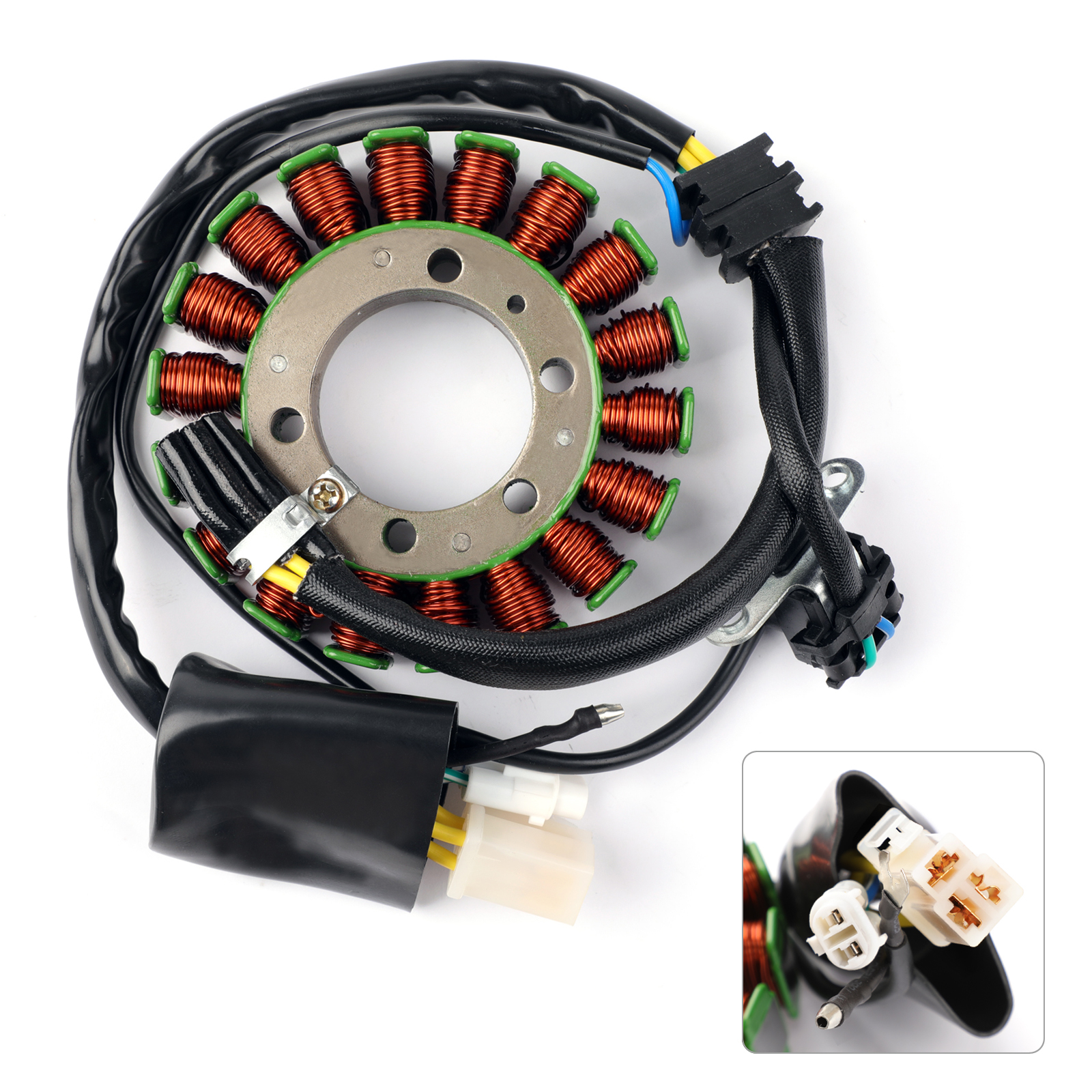 Areyourshop for Yamaha XT660 XT660R/X 2004-2014 <font><b>XT660Z</b></font> Tenere 08-15 Magneto Generator Engine Stator Coil image