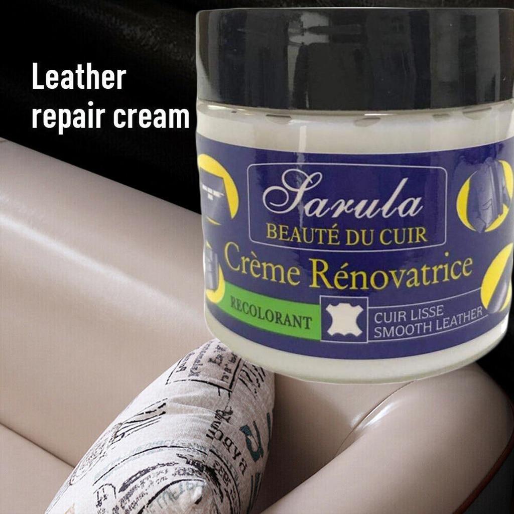 Renovation Repair Cream Filler Compound Leather Restoration Cracks Burns Hole