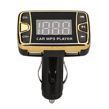 MP3 Player Wireless FM Transmitter Modulator Car Kit USB SD TF MMC LCD Remote With Remote Control Convenient To Use(China)