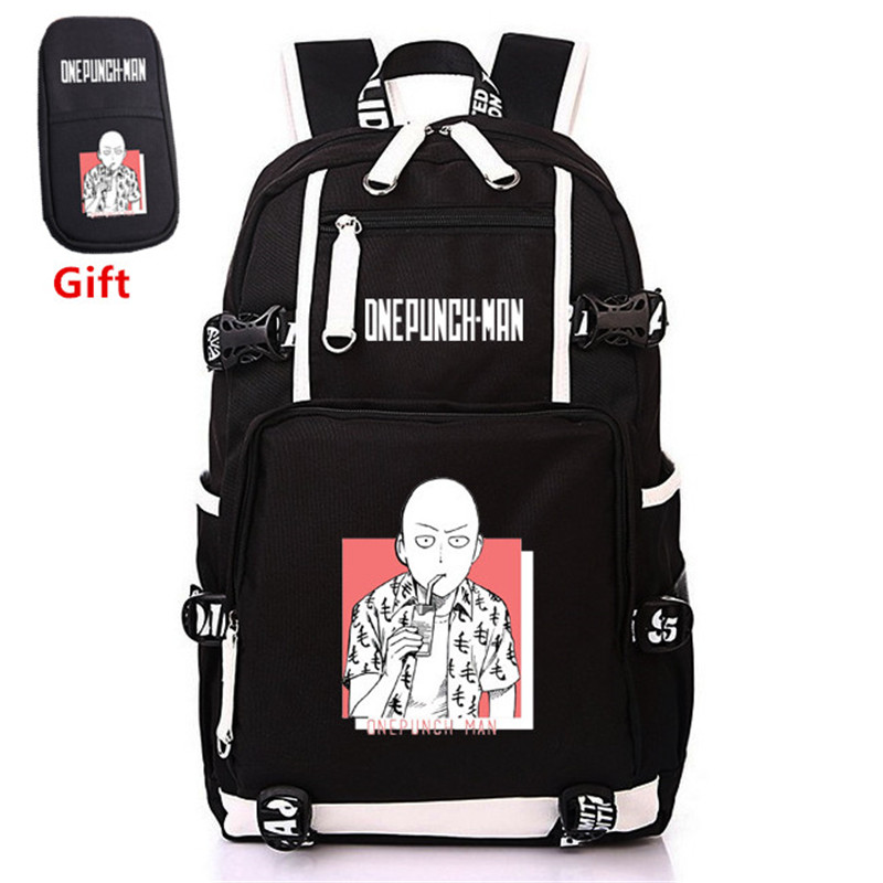 Best Discount #f6c8 ONE PUNCH MAN Anime Men Backpack Gift