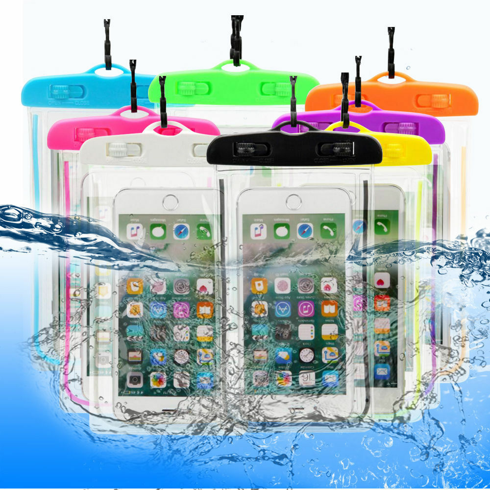 Universal Clear Mobile Phone Dry Pouch Waterproof Underwater PVC Cell Phone Bag For Swimming Diving Water Sports Phone Case Bag