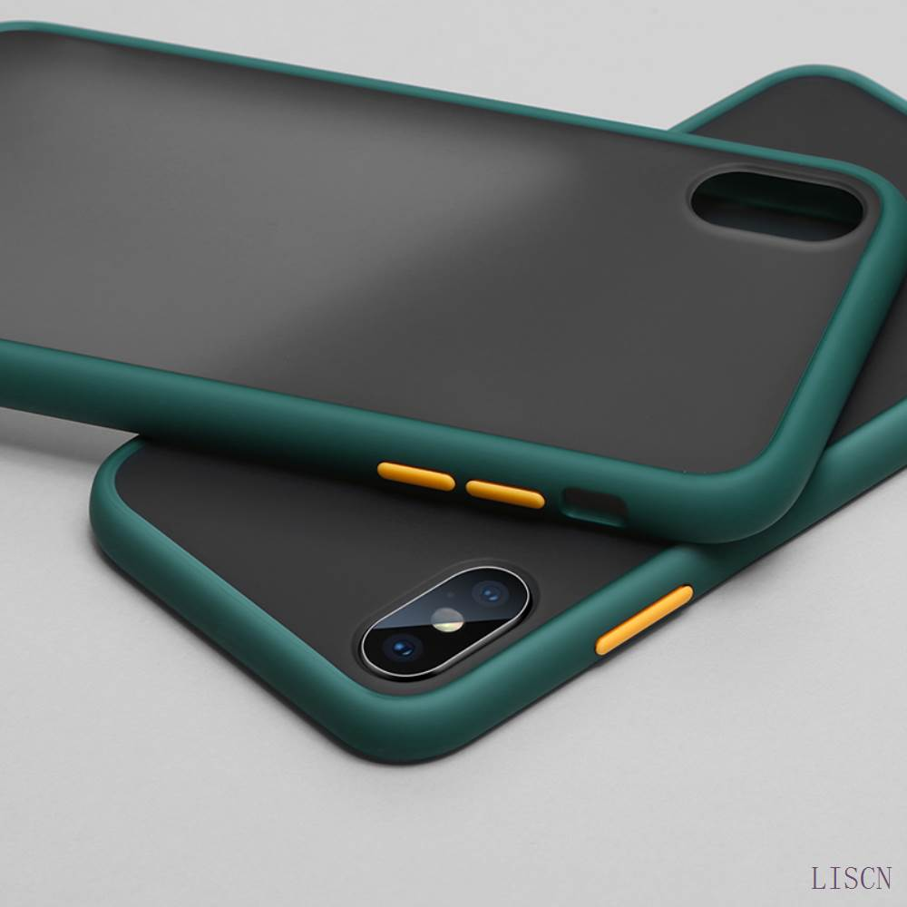 Shockproof Anti Knock PC Matte Bumper Phone Case With Independent Button For Xiaomi mi And Redmi 4