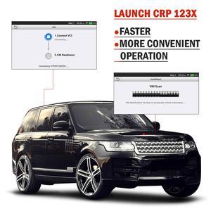 Image 3 - השקת X431 CRP123X OBD2 סורק אבחון סריקת כלי רכב אבחון סורק אוטומטי קוד קורא ENG ABS SRS באופן WIFI עדכון
