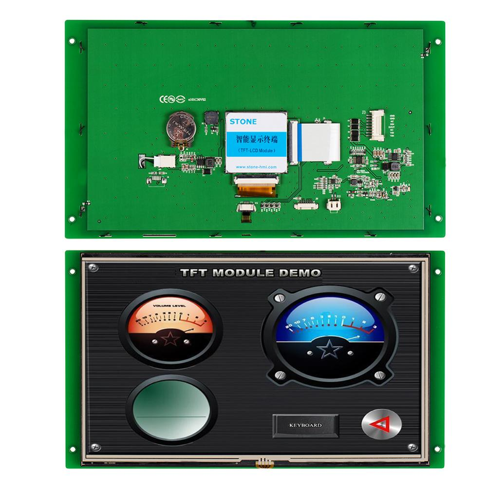 STONE 10.1 Inch HMI TFT LCD Display Module with Controller+Program+Touch Monitor+Serial Interface