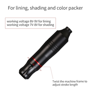 Image 4 - Compelte Attooปากกาชุดถาวรแต่งหน้าKitเครื่องโรตารี่Mini PowerตลับหมึกTattoo Supply