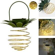 1 Упаковка солнечной ананас фары Водонепроницаемый красивые