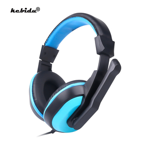 Image 1 - kebidu High Performance Adjustable Game Gaming Headphones 3.5mm Noise canceling Computer PC Gamers Headset With Mic