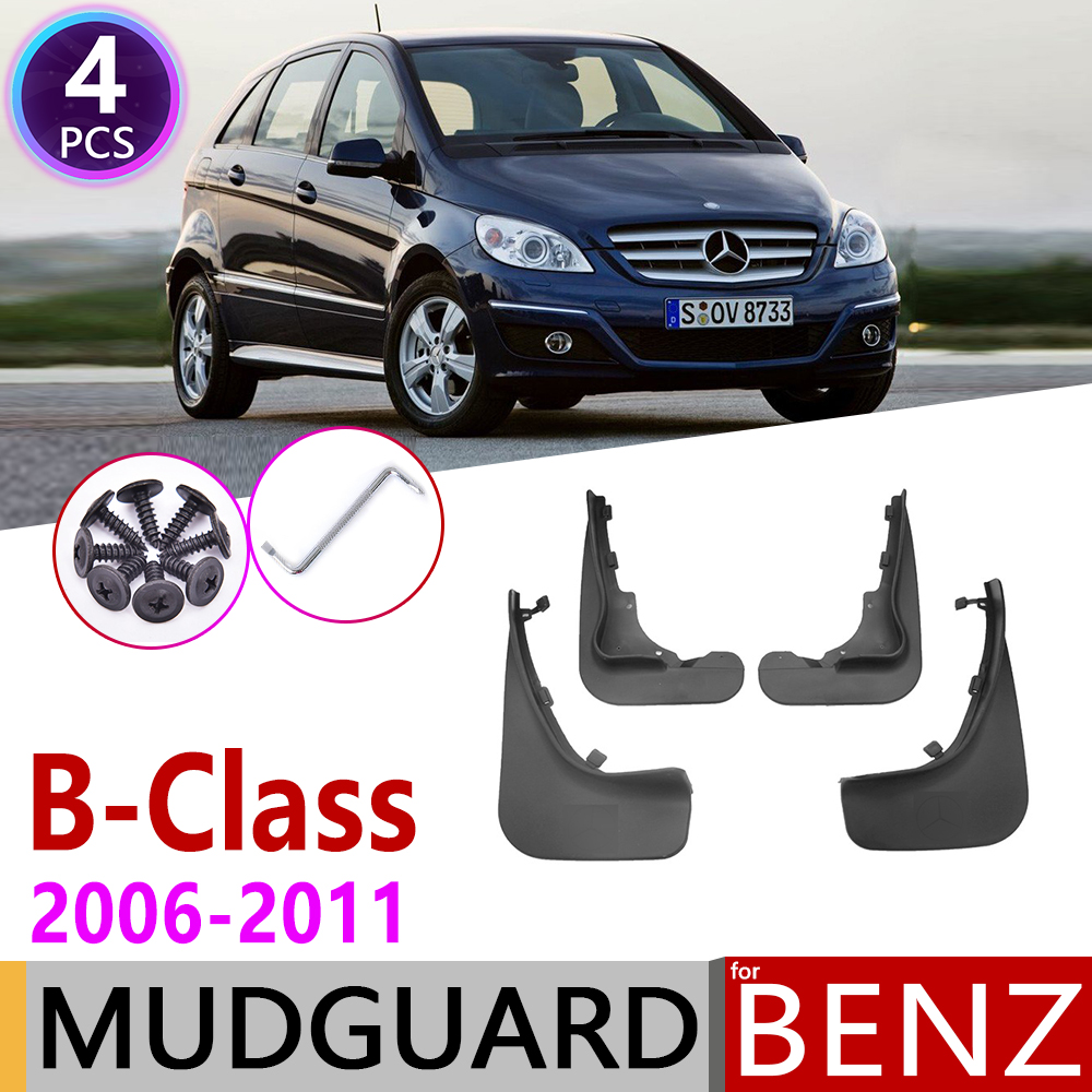 Car Mudflap For Mercedes Benz B Class B-Class W245 2006~2011 Fender Mud Guard Flaps Mudguards Accessories 2007 2008 2009 2010