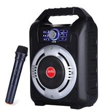 5.25 インチポータブル屋外スピーカービッグ電力の Bluetooth スピーカーオーディオパーティー DJ 音楽プレーヤーサポート FM ラジオ TF カード U ディスク