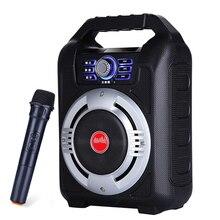 5.25 inç taşınabilir açık hoparlör büyük güç Bluetooth hoparlörler ses parti DJ müzik çalar desteği FM radyo TF kart U disk