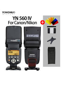 Flash-Speedlite Camera Master Nikon Yongnuo Olympus Iv-Yn560iii-Yn560iv Sony Canon Pentax