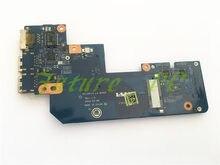 Joutndln original para dell 17r 7520 15r 5520 usb ethernet lan conector placa nenhuma porta msata qcl00/10 LS-8242P