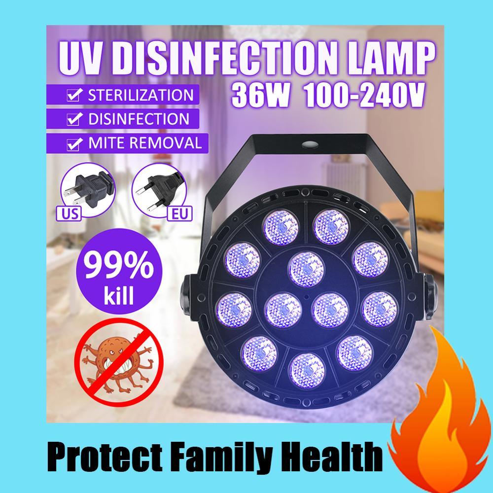 36W 253.7nm UV Lamp Home Living Room LED Ultraviolet