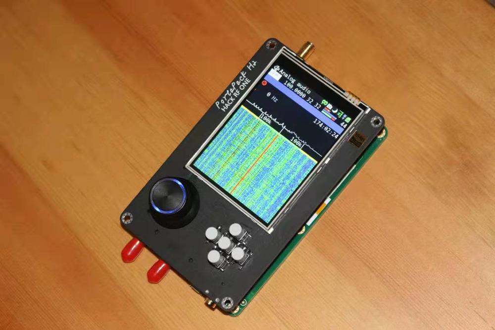 Latest Version PORTAPACK H2 + HACKRF ONE SDR Radio + Havoc Firmware + 0.5ppm TCXO + 3.2 Inch Touch LCD + 1500mAh Battery