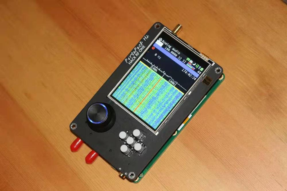 Ultima Versione Portapack H2 + Hackrf Un Sdr Radio + Havoc Firmware + 0.5ppm Tcxo + da 3.2 Pollici Lcd Touch + 1500 Mah Batteria