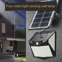 240Led Solar Lamp Indoor Household Courtyard Outdoor Waterproof Street Human Body Sensing