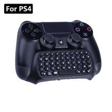 Wireless Keyboard Voor Sony Playstation 4 Mutilfunction 2 In 1 Bluetooth Mini Wireless Chatpad Bericht Toetsenbord Voor PS4